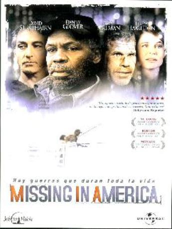 MISSING IN AMERICA DVD