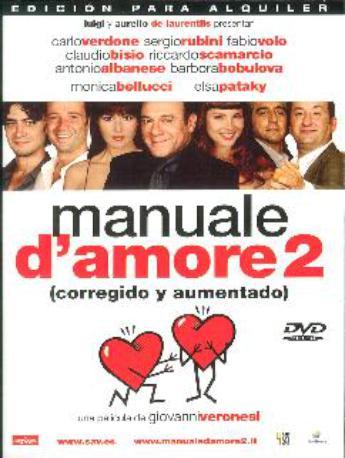 MANUAL D' AMORE 2 DVD