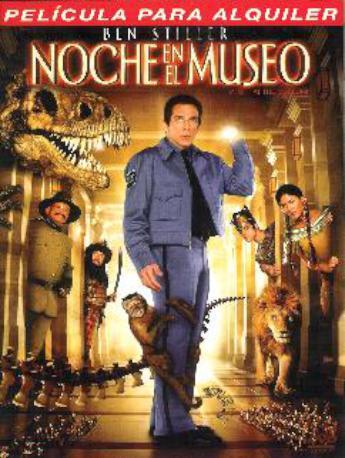 NOCHE EN EL MUSEO DVDL 2MA