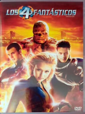 LOS 4 FANTASTICOS DVD