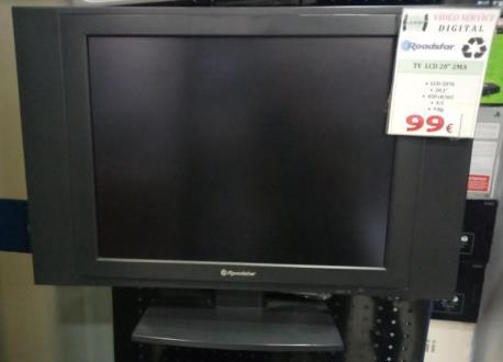 """TV 20"""" LCD-2070 ROAD"""