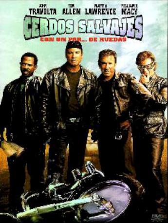 CERDOS SALVAJES DVD