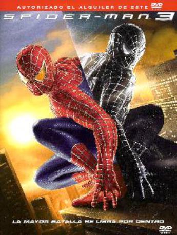 SPIDERMAN 3 DVDL