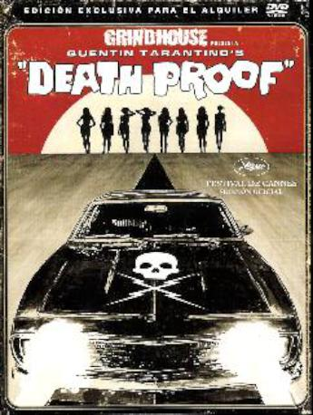 DEATH PROOF DVDL 2MA