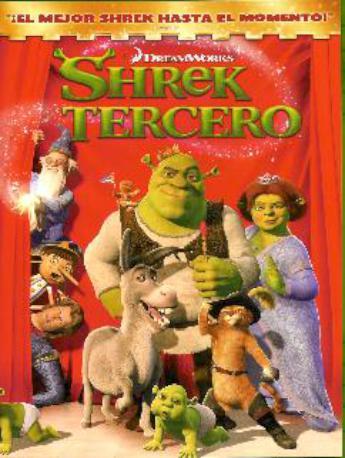 SHREK TERCERO DVD