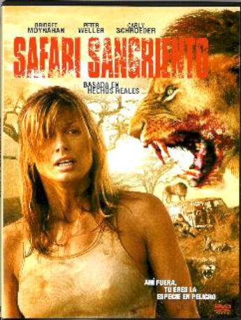 SAFARI SANGRIENTO DVD