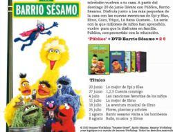 BARRIO SESAMO DVD