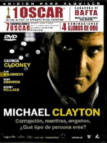 MICHAEL CLAYTON DVDL 2MA