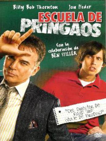 ESCUELA DE PRINGAOS DVD