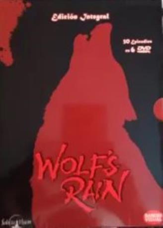 WOLF'S RAIN DVD 6 DISCOS