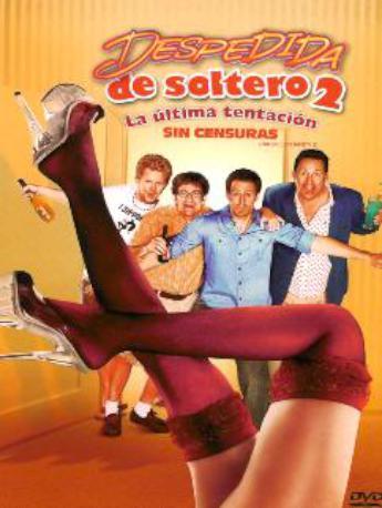 DESPEDIDA DE SOLTERO 2 DVD 2MA