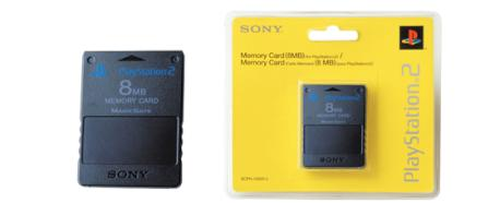 MEMORY CARD PLAY 2 8MB