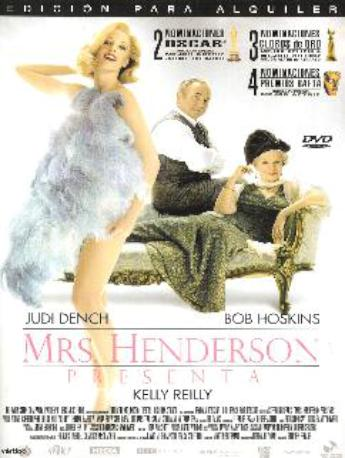 MRS,HENDERSON PRESENTA DVD