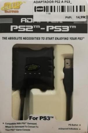 ADAPTADOR PS2 A PS3