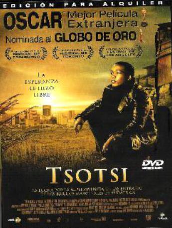 TSOTSI DVD LLOGUER