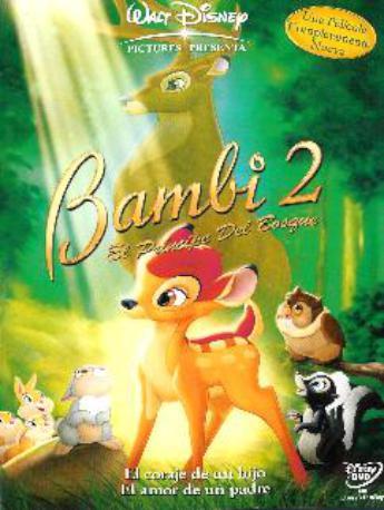 BAMBI 2 DVD