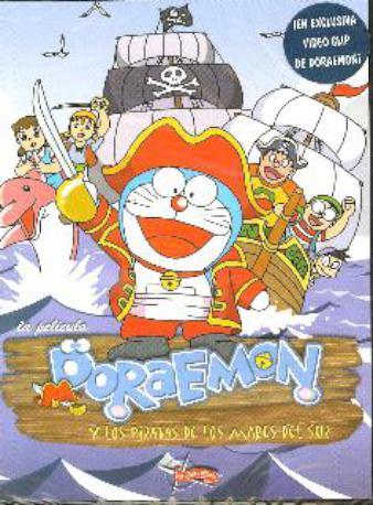 DORAEMON Y LOS PIRATAS DE DVD