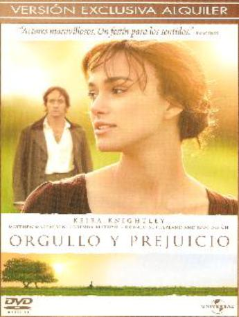 ORGULLO Y PREJUICIO DVDL 2MA