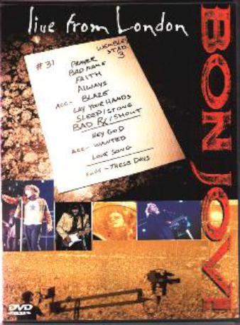 BON JOVI LIVE FROM DVD