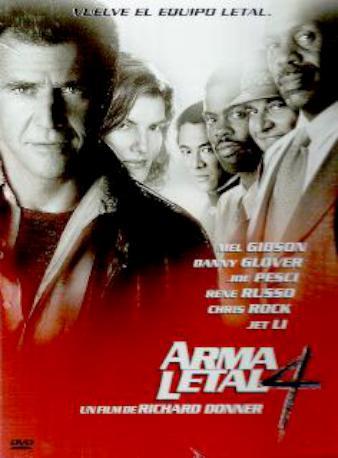 ARMA LETAL 4 DVD 2MA
