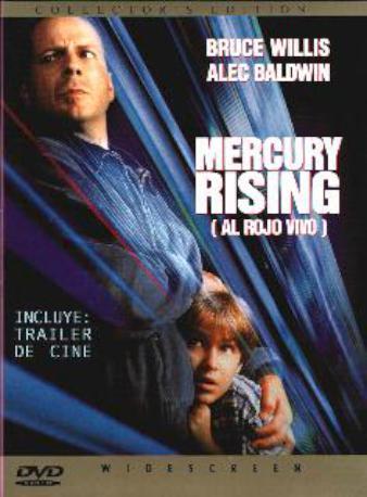 MERCURY RISING DVD