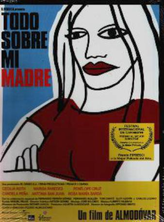 TODO SOBRE MI MADRE DVD