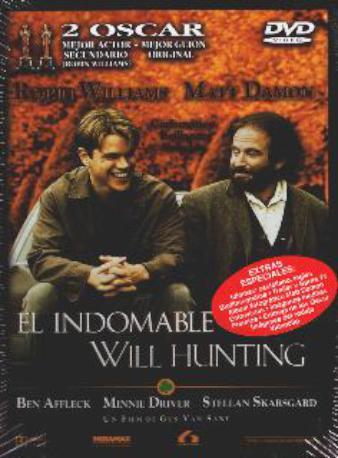 EL INDOMABLE WILL HUN,DVD