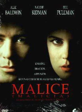 MALICE DVD