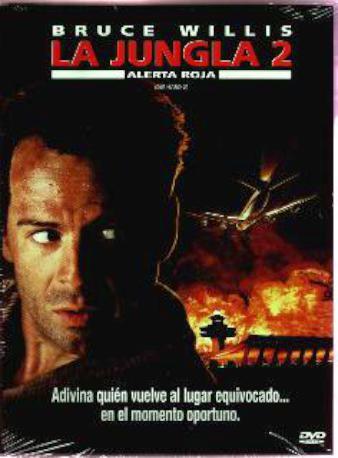 LA JUNGLA 2 ALERTA R,DVD 2MA