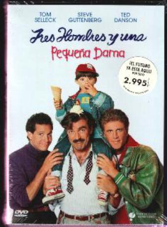 3 HOMBRES I UNA PEQ,D DVD