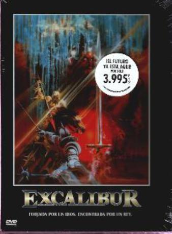 EXCALIBUR DVD