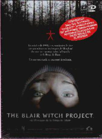 THE BLAIR WITCH PROJ,DVD