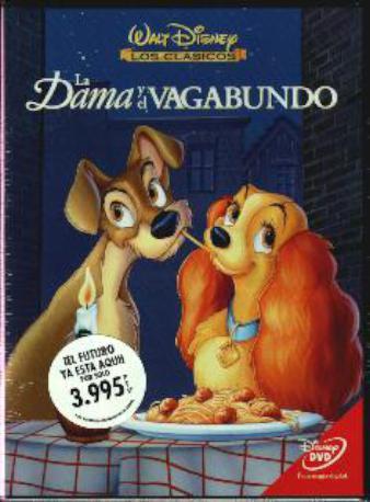 LA DAMA Y EL BAGABUND,DVD