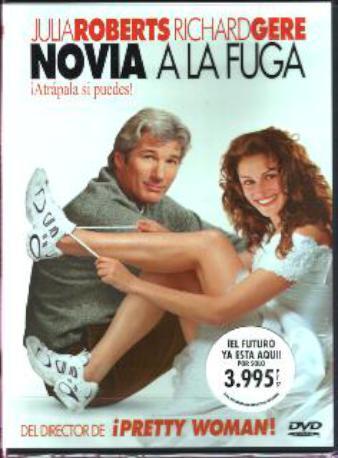 NOVIA A LA FUGA DVD 2MA
