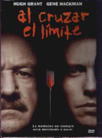 AL CRUZAR EL LIMITE DVD