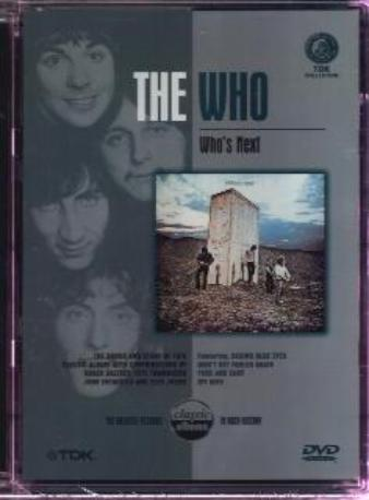 THE WHO WHO'S NEXT DVD