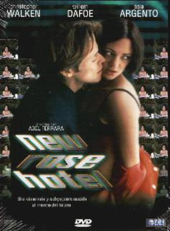 NEW ROSE HOTEL DVD