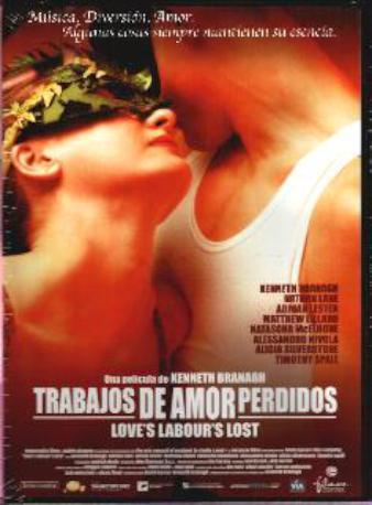 TRABAJOS DE AMOR PERD,DVD