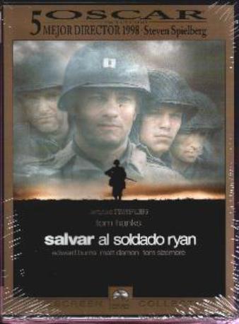 SALVAR AL SOLDADO RY,DVD