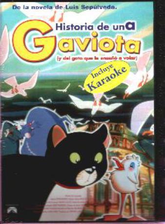 HISTORIA DE UNA GAVI,DVD