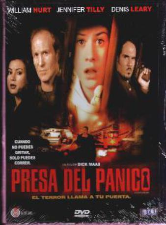 PRESA DEL PANICO DVD