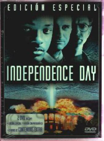 INDEPENDENCE DAY DVD 2M