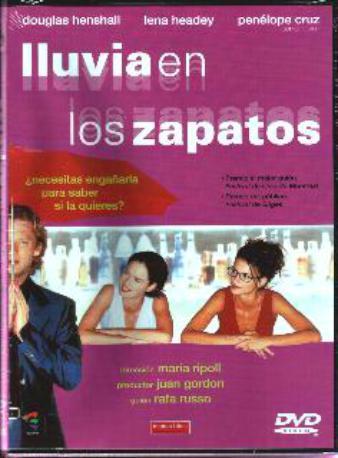 LLUVIA EN LOS ZAPATOS DVD