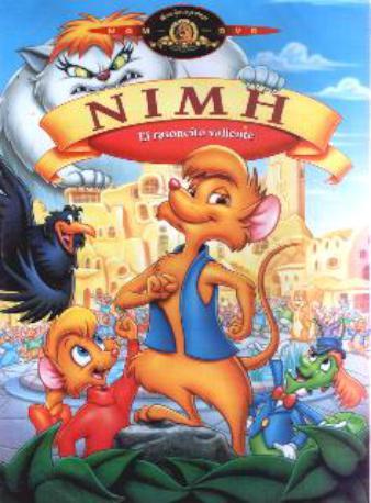 NIMH EL RATONCITO DVD