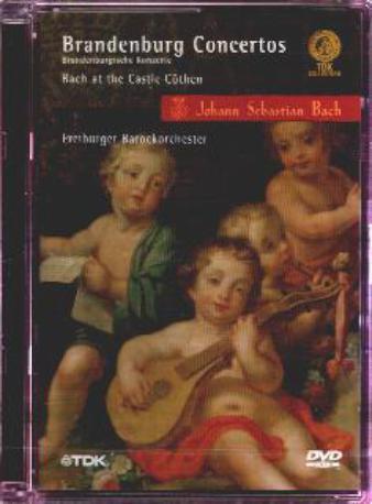 BACH BRANDENBURG CON,DVD