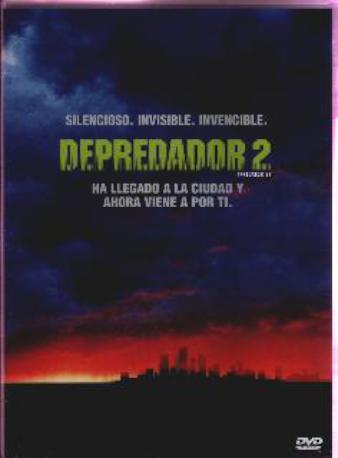 DEPREDADOR 2 DVD 2MA
