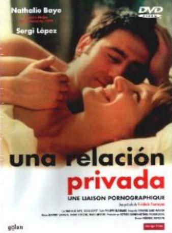 UNA RELACION PRIVADA DVD