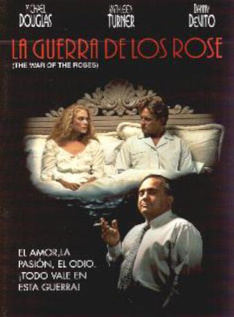 LA GUERRA DE LOS ROSE DVD