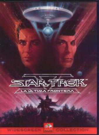 STAR TREK V DVD