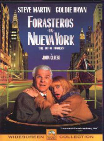 FORASTEROS EN NY DVD